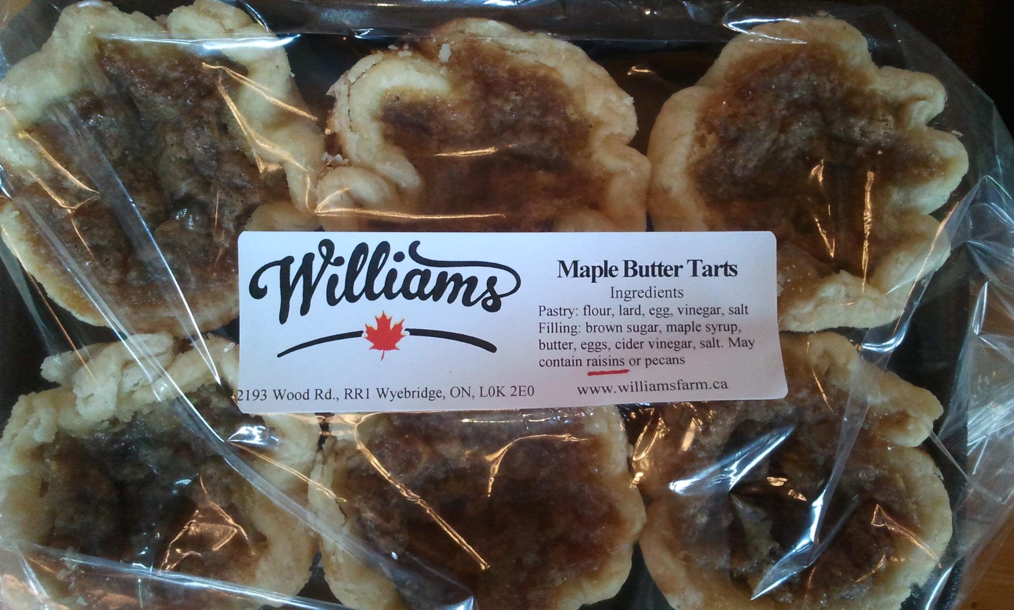 Maple Butter Tarts!